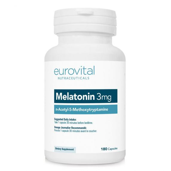 120 vegane Tabletten Melatonin 3 mg