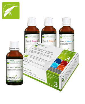 Wellnest Leber-Kraft Vital Paket